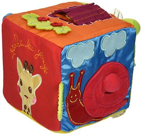 Vulli Sensitive Cube Toy