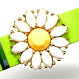 "Fitband Bling ""Daisy"" - Fitness Band Accessory For Fitbit FlexTM; Jawbone UPTM Series And Garmin VivosmartTM"