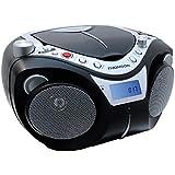Thomson RCD203U Radio Portable mp3/CD FM/MW 6W USB Noir