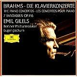 Brahms: The Piano Concertos 1 & 2 / Fantasies Op 116