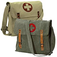 Rothco Vintage Canvas Medic Bag w/Cross by Rothco