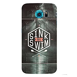 Back cover for Samsung Galaxy S6 Sink Or Swim
