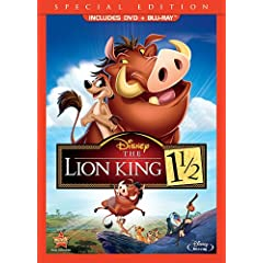 The Lion King 1 1/2 Special Edition (Two-Disc Blu-ray/DVD Combo in DVD Packaging)