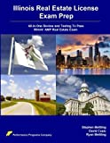 img - for Illinois Real Estate License Exam Prep: All-in-One Review and Testing To Pass Illinois' AMP Real Estate Exam book / textbook / text book