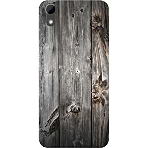 Casotec Wooden Texture Design Hard Back Case Cover for HTC Desire 626