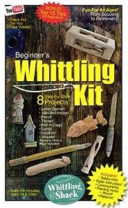 Amazon.com: Whittling Kit for Beginner's Wood Carving Kit ...