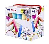 Eddy Toys 90726 - Straßenkreide, KinderKreide, 15 teilig, verschieden farben hergestellt von EDDY TOYS
