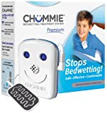 Chummie Premium Bedwetting Alarm for Deep Sleepers - Award Winning, Clinically Proven System with Loud Sounds, Bright Lights and Strong Vibrations, Blue