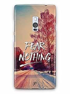 YuBingo Fear Nothing Designer Mobile Case Back Cover for OnePlus 2