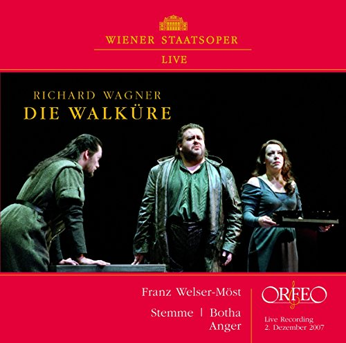 ワーグナー : 「ワルキューレ」 第1幕 (Richard Wagner : Die Walkure / Franz Welser-Most , Stemme , Bptha , Anger) [輸入盤]