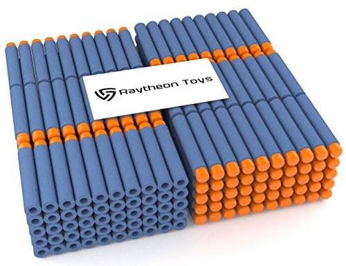 raytheon-toys-soft-darts-for-nerf-n-strike-elite-series-blasters-300-pieces-300-darts-blue