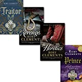 Rory Clements Rory Clements John Shakespeare Series 4 Books Collection Set, (Revenger, Prince, Traitor, The Heretics)