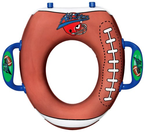 munchkin all star potty seat football review