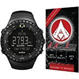 Ace Armor Shield Shatter Resistant Screen Protector for the Suunto Core Wrist-Top Computer Watch / Military Grade / High Definition / Maximum Screen Coverage / Supreme Touch Sensitivity /Dry or Wet Easy Installation with free lifetime replacement warranty