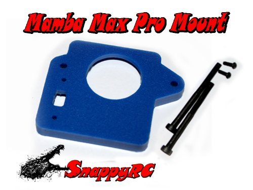 Snappy RC Mamba Max Pro Mounting Kit Blue