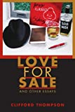 Love for Sale and Other Essays