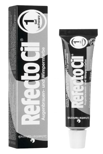 RefectoCil Cream Hair Dye (PURE BLACK) .5oz