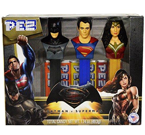 Batman V Superman: Dawn of Justice PEZ Set