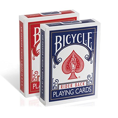 Fantastic Deal! Bicycle Rider Back Index Playing Cards (COLORS MAY VARY- SINGLE PACK)