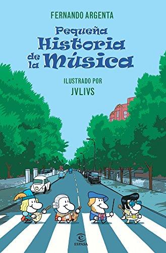 Portada del libro Pequeña historia de la Música de Fernando Argenta