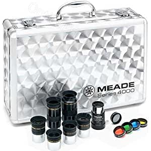 Meade Instruments Series 4000 Eyepiece for Telescopewith Filter Set