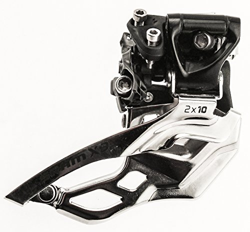 Sram X9 X-9 High Clamp 34.9Mm Front Derailleur Dual Pull Mountain Bike Mtb