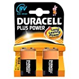 Duracell Plus Power Batterie 9V 2er