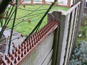 Garden wall security