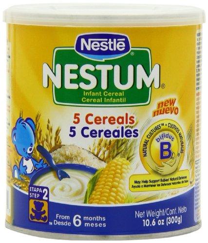 Nestle - Nestum Infant Cereal 5 Cereals, 300 Grams