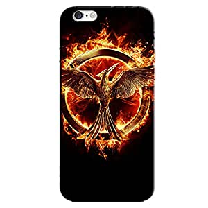BLAZING FIRE SYMBOL BACK COVER FOR APPLE IPHONE 6 PLUS
