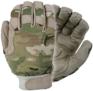 Damascus MX25M Nexstar III Medium Weight All Duty Military Gloves with Multi-Cam Camo, Multi-Cam, Large