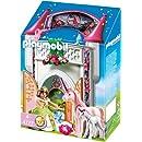 Playmobil - 4777 - Jeu de construction - Donjon de la licorne transportable
