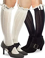 Premium Quality Knee High Boot Socks…