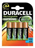 Duracell Supreme AA 2650mAh Pack of 4