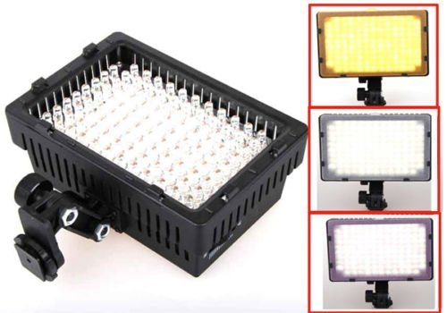 Neewer 126 LED LIGHT for DSLR CAMERA or Digital Video Recorder CANON , NIKON, SONY, SAMSUNG, KODAK , PENTAX , PANASONIC image