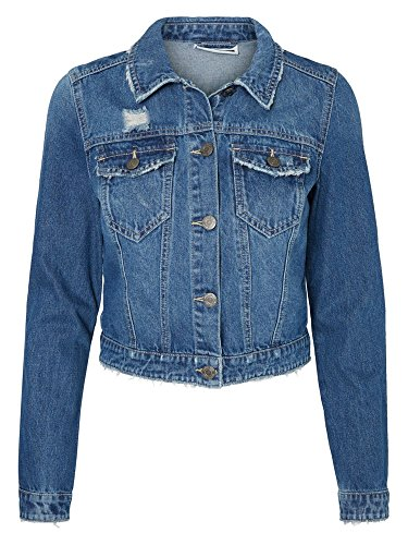 Noisy May 10155429 Giubbotto Donna Jeans M