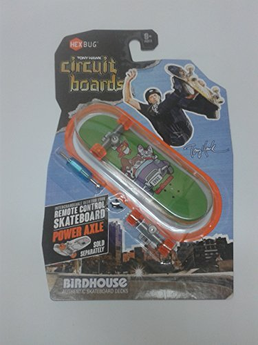 Hexbug Tony Hawk Circuit Boards Birdhouse Cartoon 1992 Gang Drive Design Image