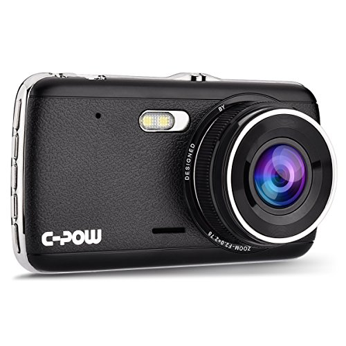 c-pow-dash-car-camera-4-ips-display-hd-1296pbetter-than-1080p-170-wide-angle-with-g-sensor-loop-reco