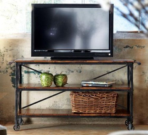Cheap Industrial Vintage Console Table (B004W2RNC0)