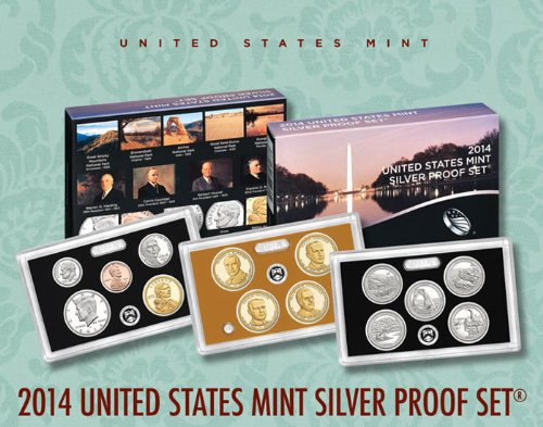 2014 United States Mint Silver Proof Set (Sw1)