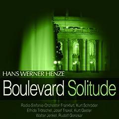 Henze: Boulevard Solitude