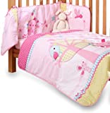 Clair de Lune Lottie & Squeek Cot/ Cot Bed Quilt and Bumper Set (2 Pieces)