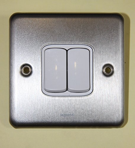 legrand-synergy-7330-02-brushed-steel-10a-2-gang-2-way-switch-plate