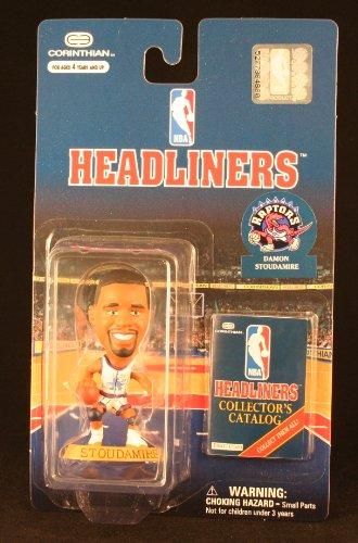 DAMON STOUDAMIRE / TORONTO RAPTORS * 3 INCH * 1997 NBA Headliners Basketball Collector Figure - 1