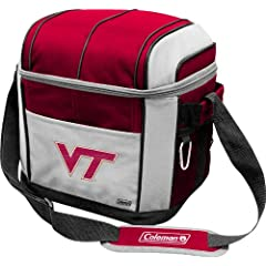 NCAA Virginia Tech Hokies 24 Can Soft Sided Cooler by Licensed Products