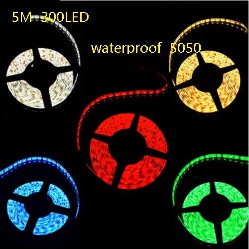 Coffled® 1Pcs Rgb 5M 5050 300 Led 12V Smd Strip Colorful Lamp Xmas Home Décor Fairy Lights