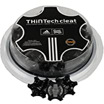 Adidas Thintech Replacement Golf Cleats 20 Count Black