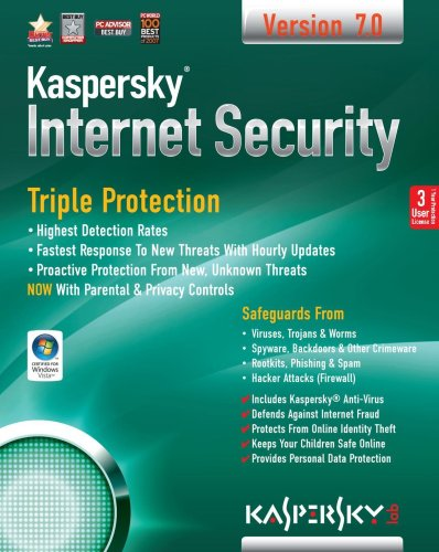Kaspersky Internet Security 7 (3 User Edition) (PC)