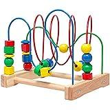 Ikea Wooden Bead Roller Coaster, Multicolor
