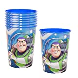Toy Story Game Time Party Plastic Cups - 8 Pieces